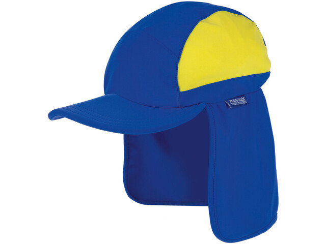 Regatta Protector II Cap Kids oxford blue /spring yellow